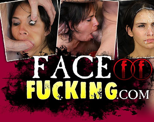 Sindee Rose Gets Throat Fucked on FaceFucking.com